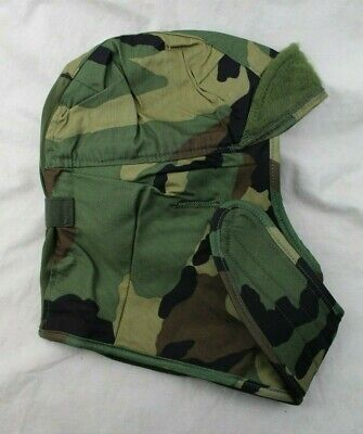 c28c6928d2a Genuine Us Army Issue Insulated Helmet Liner Cap Hat Cold Weather Woodland  Camo