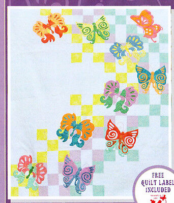 CLEARANCE - My Butterfly Quilt - pieced & applique quilt PATTERN
