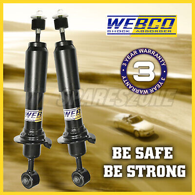 2 Rear strut shock absorbers MITSUBISHI Lancer CE SEDAN COUPE ONLY 96-04