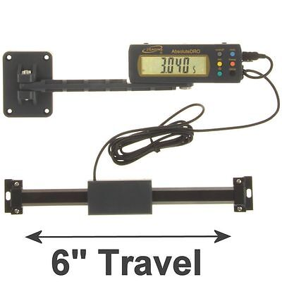 """iGaging Absolute DRO Digital Readout 6""""/150mm Read Out Stainless Steel Beam"""