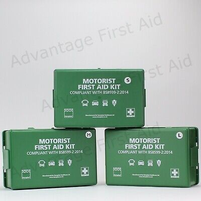 Motorist / Vehicle / Car First Aid Kit BS8599-2 Compliant. Travel First Aid Box.
