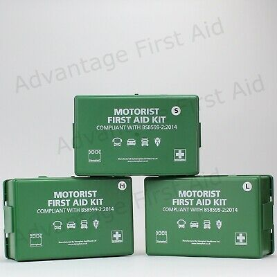 Motorist / Vehicle / Car First Aid Kit BS8599-2 Compliant. Small-Medium or Large