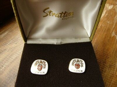Austin  Original Cufflinks  By Stratton  Factory Showroom Aid Ten Eight A40 Mini
