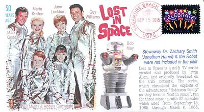 """COVERSCAPE computer designed 50th anniversary TVs ""Lost in Space"" debut cover"