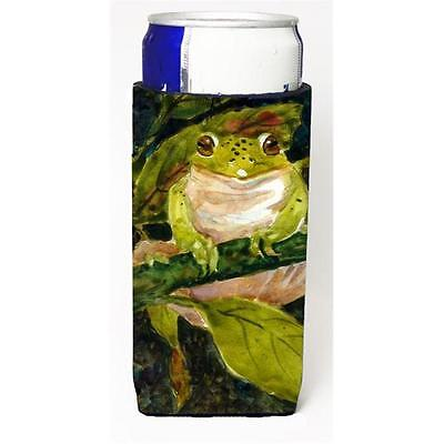 Carolines Treasures MM6015MUK Frog Michelob Ultra s For Slim Cans 12 oz.