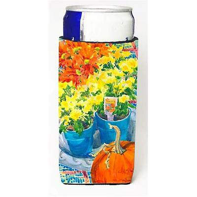 Carolines Treasures 6005MUK Flower Mums Michelob Ultra s for slim cans