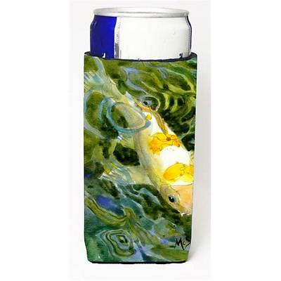 Carolines Treasures MM6034MUK Fish Koi Michelob Ultra bottle sleeve for Slim Can • AUD 47.47