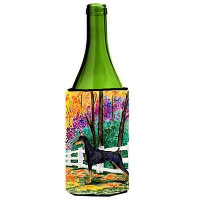 Carolines Treasures SS8428LITERK Doberman Wine bottle sleeve Hugger 24 oz.