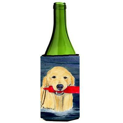 Carolines Treasures SS8868LITERK Golden Retriever Wine Bottle Hugger