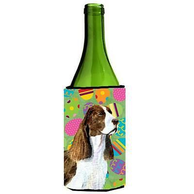 Springer Spaniel Easter Eggtravaganza Wine bottle sleeve Hugger 24 Oz.