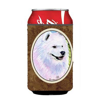 Carolines Treasures SS8755CC Samoyed Can Or bottle sleeve Hugger 12 Oz.