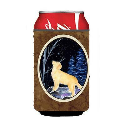 Carolines Treasures Starry Night Golden Retriever Can Or bottle sleeve Hugger
