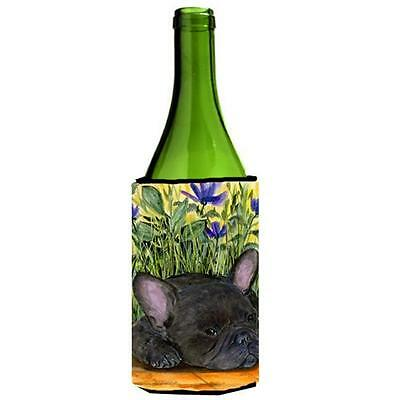 Carolines Treasures SS8674LITERK French Bulldog Wine bottle sleeve Hugger