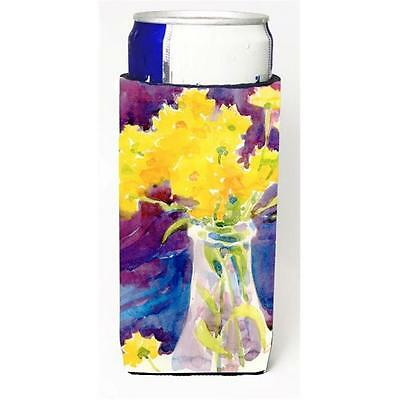 Carolines Treasures 6013MUK Flower Michelob Ultra s For Slim Cans 12 oz.