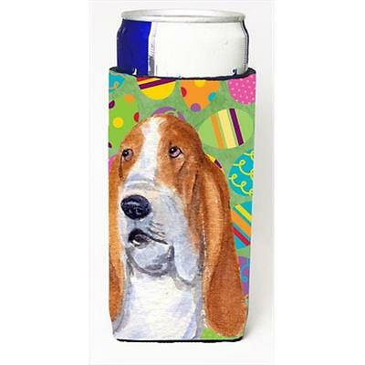 Basset Hound Easter Eggtravaganza Michelob Ultra bottle sleeves For Slim Cans...