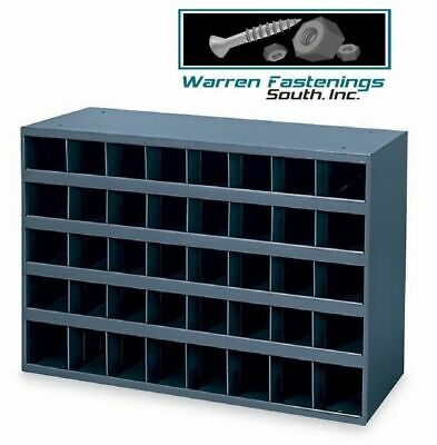 Metal 40 Hole Storage Bin / Cabinet For Nuts , Bolts And Fasteners