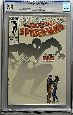 Amazing Spider-man Vol # 1 Issue # 290 CGC 9.4 Marvel Peter Proposes to MJ