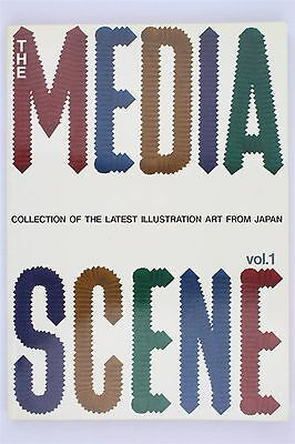 The Media Scene Vol 1 Collection of the Latest Illustration Art from Japan 1991