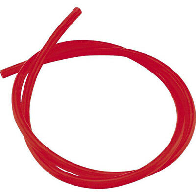 HELIX 380-1201 Transparent Tubing 3/8 Inch X 3ft Red