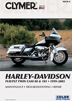 clymer service manual maintenance repair book harley davidson m430 rh picclick com 2007 flhr service manual 2007 road king service manual pdf
