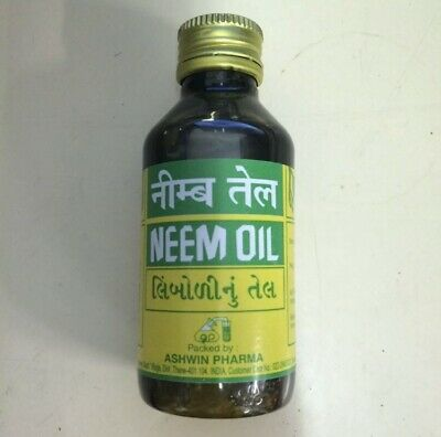 PURE UNREFINED NEEM OIL 100ml  FOR ECZEMA PSORIASIS LICE ETC **SPECIAL OFFER**