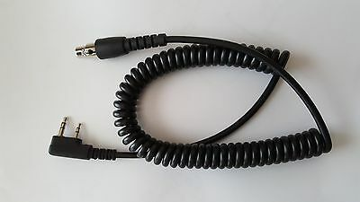 Headset Coiled Cord 2 Pin Baofeng Kelvar Reinforced Racing Radios Electronics