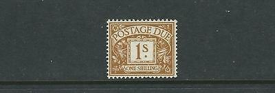 GREAT BRITAIN 1951-2 POSTAGE DUES (SG D39 1sh) VF MNH