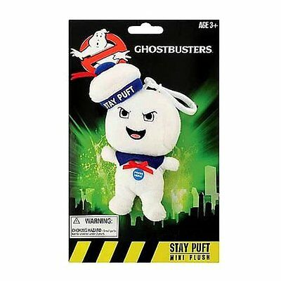 """GHOSTBUSTERS STAY PUFT ANGRY 4"""" Plush Clip-on Sound Talking Doll Underground"""
