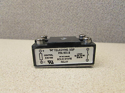 Teledyne Ssp 601-2 Solid State Relay