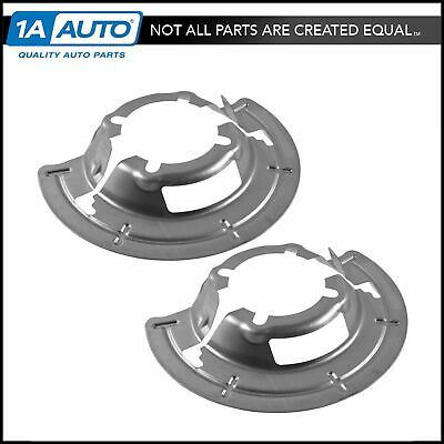 OEM Front Axle Disc Brake Dust Shield Pair Set for Ford Pickup Truck SUV 4WD New