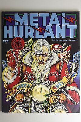 Metal Hurlant Magazine #12 Dec 1976 Bilal Dionnet Caza Margerin French Comic Art