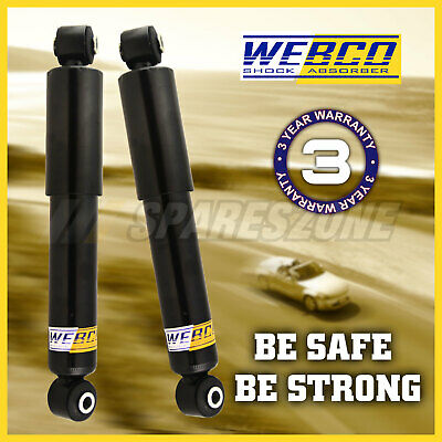 2 Rear Heavy Duty shock absorbers for MITSUBISHI TRITON 4WD ML MN ALL UTE 06-on