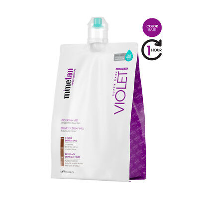 Mine Tan Pro Solution Violet Onyx 14% DHA 1 Litre Spray Tanning Mist