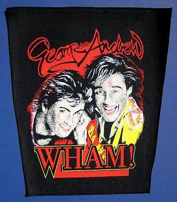 backpatch Wham w/ lipstick 1984 for jean jacket unused