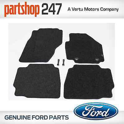 NEW GENUINE FORD MONDEO MK4 2007-12 Tailored CARPET MATS SET of 4 (FRONT & REAR)