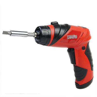Cordless Screwdriver 6V Battery Operated Cordless Mini Electric Screw Driver