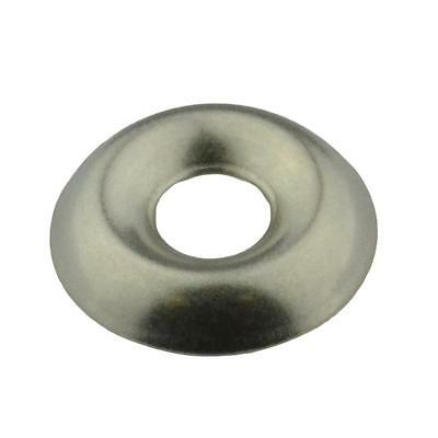 Qty 10 Cup Washer 12g / No.12 Imperial Stainless Steel SS 304 A2 Finishing