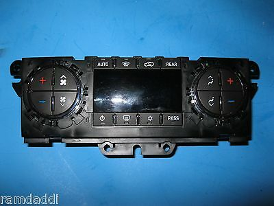 OEM 25932038 Climate Control Instrument Panel Enclave Traverse PERFECT BUTTONS!