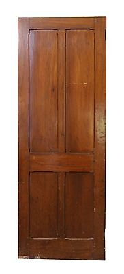 Wooden Four Horizontal Panel Door