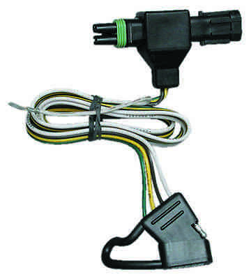 1991-1997 gmc sonoma syclone trailer hitch wiring kit harness plug & play t-