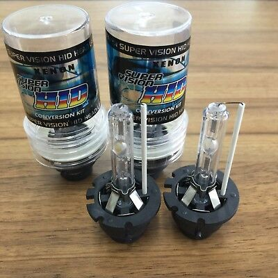 One Pair D2C D2S D2R OEM Stock HID Xenon Headlight Bulbs Replacement