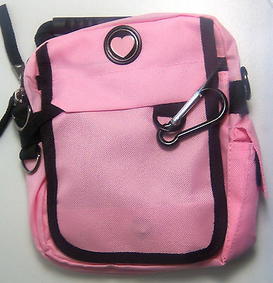 CMC URBAN PACK™ Pink Bag w  Heart Backpack 7 Compartments 6 zippered Travel  Golf 6eb6d36c9b897