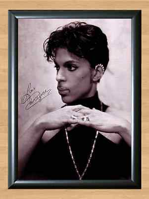 PRINCE Music Autographed Signed A4 Print Poster Photo Picture Memorabilia CD DVD