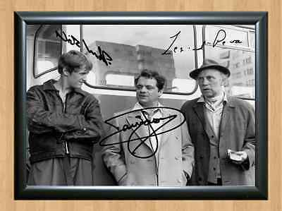 Only Fools And Horses Del Boy Rodney Signed Autographed A4 Print Poster TV Photo