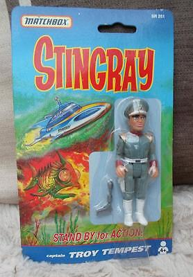 Anderson TROY TEMPEST STINGRAY MATCHBOX  Boxed vintage