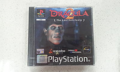 Dracula 2 The Last Sanctuary Sony PlayStation 1 PS1  Brand New and Sealed