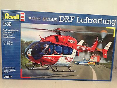 +++ Revell Airbus Helicopters EC145 DRF Luftrettung 1:32 04897