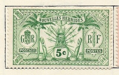 Mexico 1911 Early Issue Fine Mint Hinged 5c. 006355
