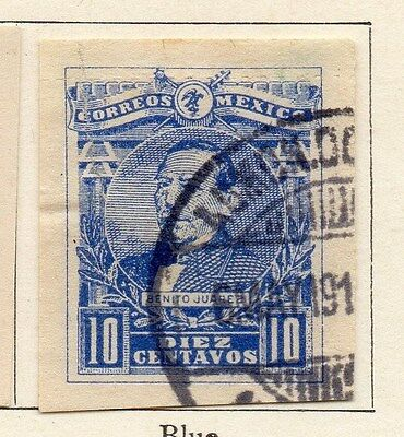 Mexico 1915 Early Issue Fine Used 10c. 006300