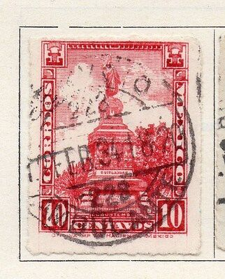 Mexico 1923 Early Issue Fine Used 10c. 006323